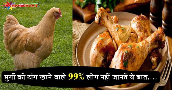 मुर्गी की टांग खाने वाले 99% लोग नहीं जानते होंगे ये बात, एक बार जरूर पढ़े वरना बाद में पछताओगे