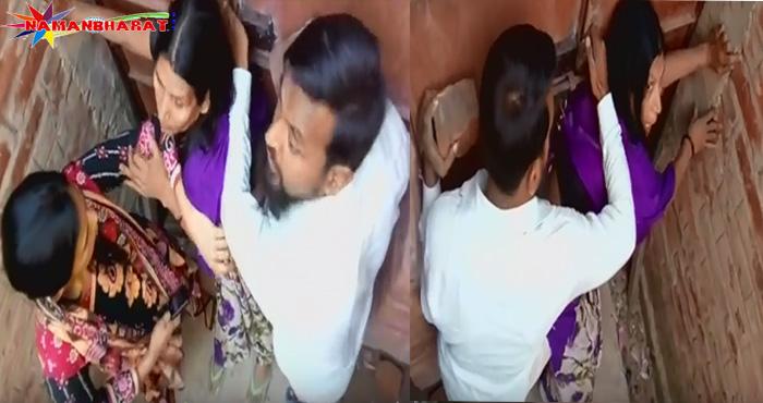 पार्षद के भतीजे की गुंड़ागर्दी कैमरे में हुई कैद, मां- बेटी के साथ की ये शर्मनाक हरकत। वीडियो देखकर दंग रह जाएंगे आप