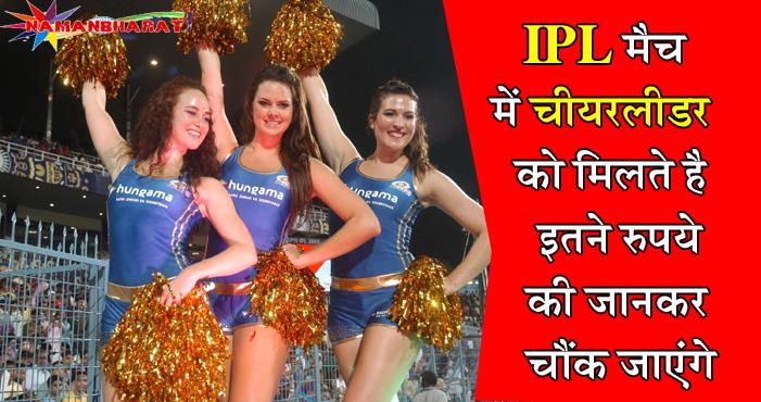 जाने, आखिर आईपीएल मैच में चीयरलीडर को मिलते है कितने रूपये