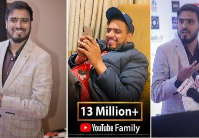 देश के नंबर 1 यूट्यूबर अमित भड़ाना ने छूआ कामयाबी का एक और शिखर,  सम्मानित हुए दादा साहेब फाल्के पुरस्कार से